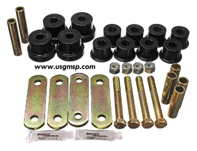 Rear Leaf Bushing Kit: 67-81 W/ Front Bushes
