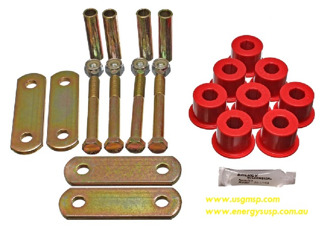 Rear Leaf Bushing Kit Without Front Bushes