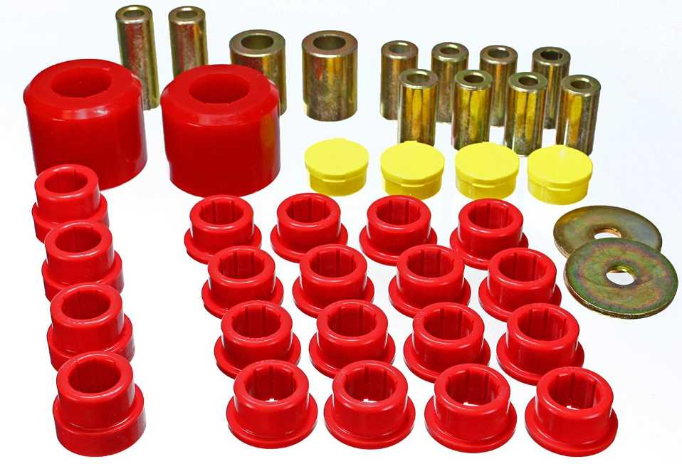 Rear End Bushing Set: 2010-14 Camaro