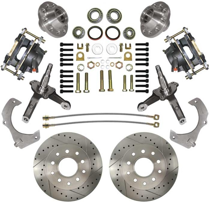 A Disc Kit: 74-78 Mustang II Stock Height High Perf Kit