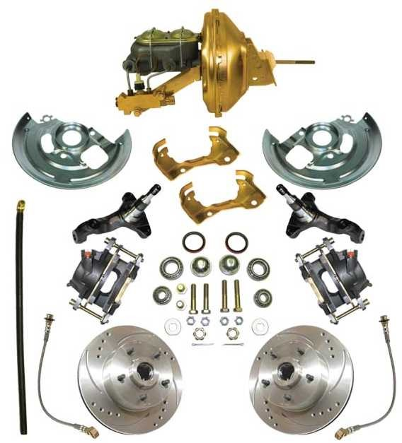 A Disc Brake Kit: Complete 64-72 GTO /LeMan / Chevelle / El Cami
