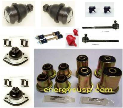 Front Suspension Kit: 64-72 A (Poly Upgrade kit)